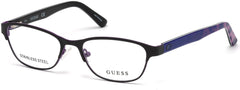 Guess - GU9170 Matte Black Eyeglasses / Demo Lenses