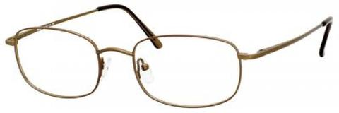 Denim Eyewear - 104 55mm Brushed Bronze Eyeglasses / Demo Lenses