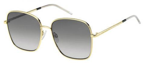 Tommy Hilfiger - Th 1648 S Gold Sunglasses / Dark Gray Gradient Lenses