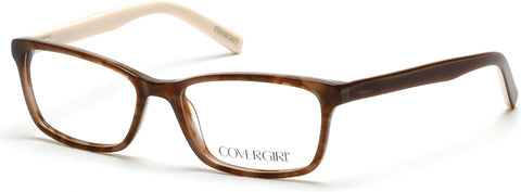 Cover Girl - CG0538 Havana Eyeglasses / Demo Lenses