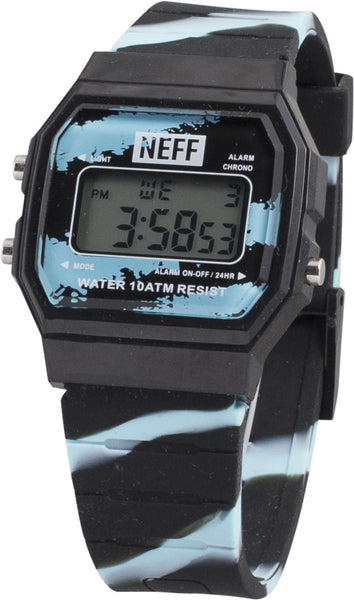Neff - Flava XL Surf Black/Ice Watch