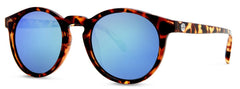 Sunski - Dipseas Tortoise Sunglasses / Aqua Polarized Lenses