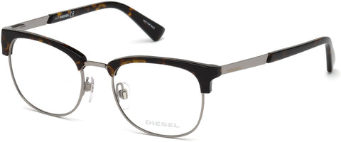 Diesel - DL5275 Dark Havana Eyeglasses / Demo Lenses