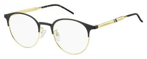 Tommy Hilfiger - Th 1622 G Black Gold Eyeglasses / Demo Lenses