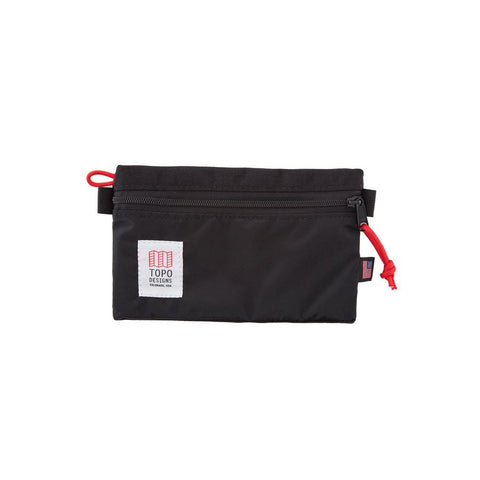 Topo Designs - Black Small Unisex Accessory Bag