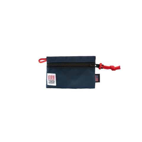 Topo Designs - Navy Micro Unisex Accessory Bag