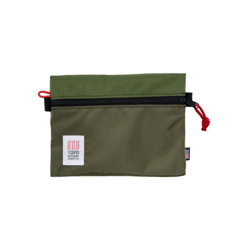 Topo Designs - Olive Small Unisex Accessory Bag