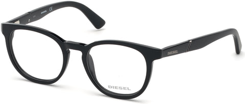Diesel - DL5295 Shiny Black Eyeglasses / Demo Lenses