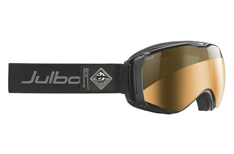 Julbo - Aerospace Black Goggles, Camel Lenses