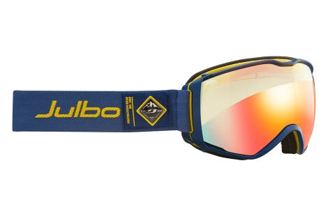 Julbo - Aerospace Blue / Yellow Goggles, Zebra Light Lenses