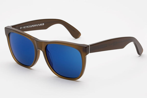 Super - Classic Deep Brown Sunglasses