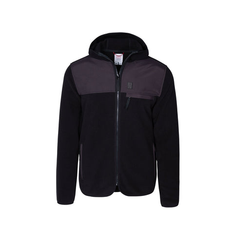 Topo Designs - Fleece Black Hoodie