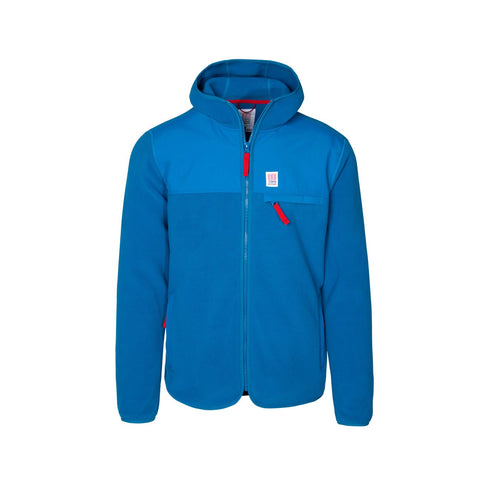 Topo Designs - Fleece Men's Blue Hoodie
