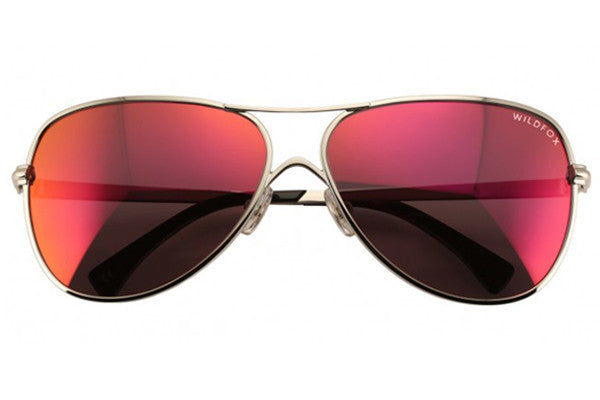 Wildfox - Airfox Deluxe Silver & Purple Sunglasses