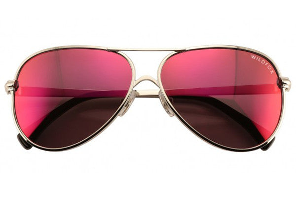 Wildfox - Airfox 2 Deluxe Silver & Purple Sunglasses