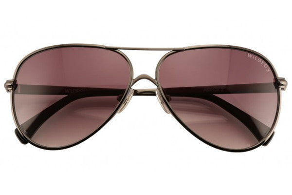 Wildfox - Airfox 2 Gunmetal Sunglasses