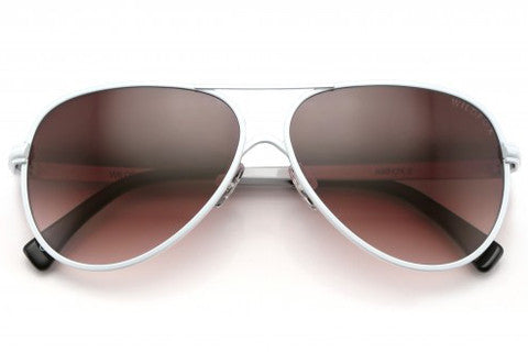 Wildfox - Airfox 2 White Sunglasses
