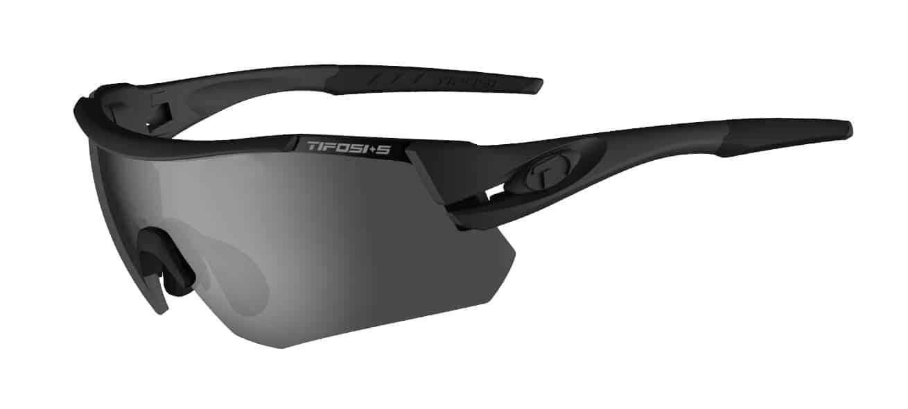 Tifosi - Alliant  Tactical Sunglasses / Smoke + HC Red + Clear Lenses