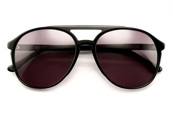 Wildfox - Amelia Black Sunglasses