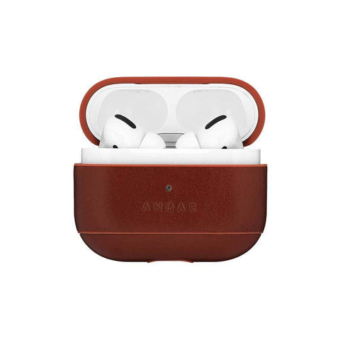 Andar - The Capsule Pro Whiskey Brown Airpods Case