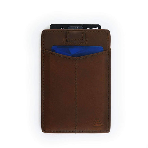 Andar - The Monarch Saddle Brown Wallet