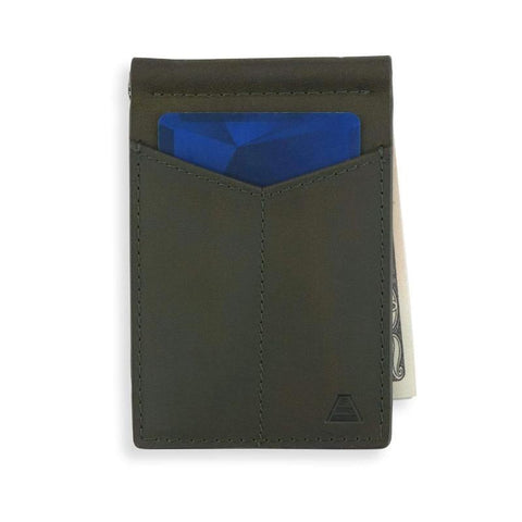 Andar - The Baron Olive Gray Wallet