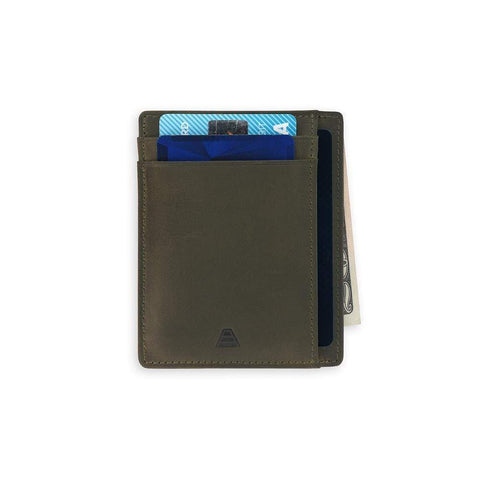 Andar - The Scout Olive Gray Wallet