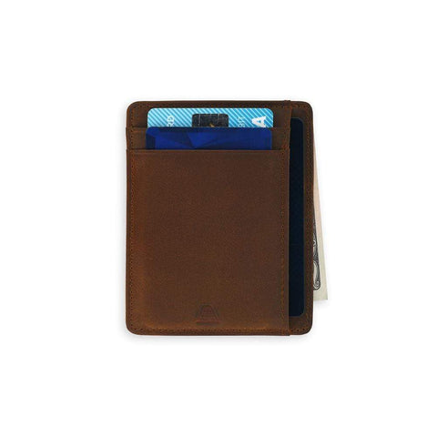 Andar - The Scout Saddle Brown Wallet
