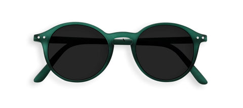 Izipizi - Nautic Blue Tortoise Sunglasses / Green Polarized Lenses