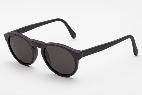 Super - Paloma Black Matte Sunglasses