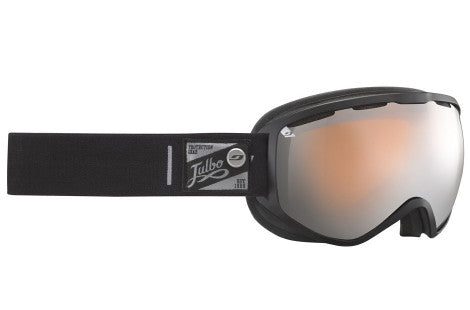 Julbo - Atlas Black Goggles, Mirror Spectron Cat. 3 Double Lenses