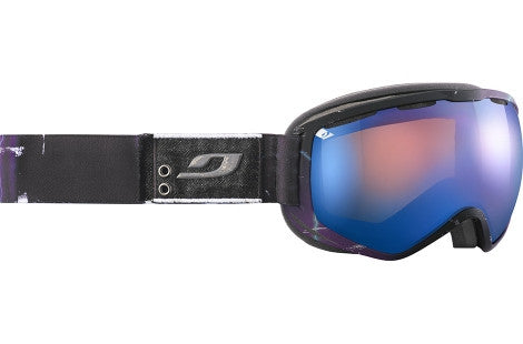 Julbo - Atlas Black / Black / Graphic Goggles, Mirror Spectron Cat. 3 Double Lenses