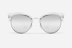 Quay Avalon Clear / Silver Sunglasses