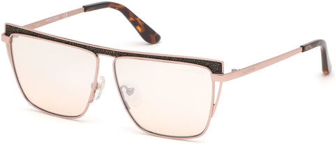 Marciano - GM0797 Shiny Rose Gold Sunglasses / Gradient Lenses