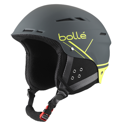 Bolle - B-Fun Soft Grey & Yellow Ski Helmet