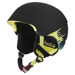 Bolle - B-Lieve Soft Black Brush Ski Helmet