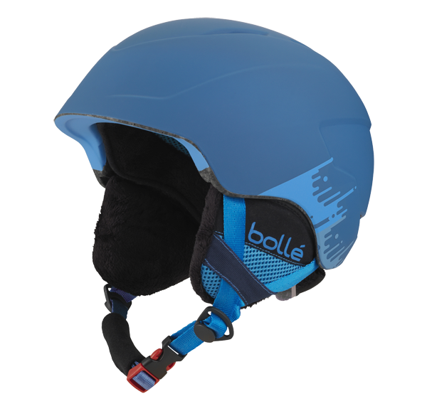 Bolle - B-Lieve Soft Blue Brush Ski Helmet