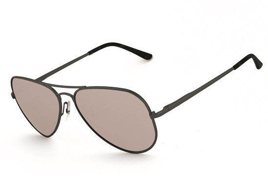 Peppers - Maverick Matte Black Sunglasses, Smoke Lenses