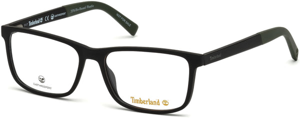 Timberland - TB1589 Matte Black Eyeglasses / Demo Lenses