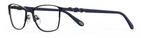 Emozioni - 4390 54mm Semi Matte Navy Eyeglasses / Demo Lenses