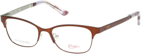 Candie's - CA0506 Matte Dark Brown Eyeglasses / Demo Lenses
