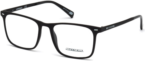 Skechers - SE3216 Matte Black Eyeglasses / Demo Lenses