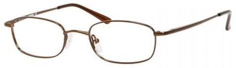 Denim Eyewear - 161 58mm Brown Eyeglasses / Demo Lenses