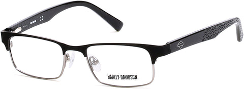 Harley-Davidson - HD0123T Black Eyeglasses / Demo Lenses