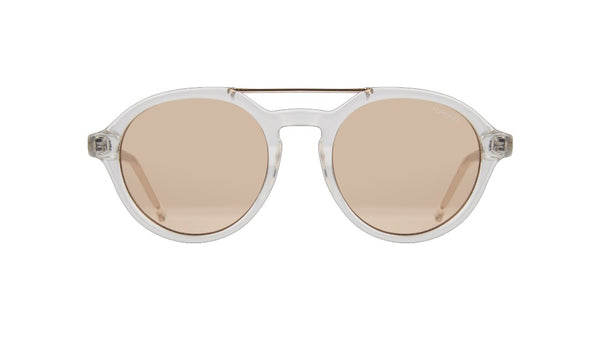 Komono - Harper Crystal Sunglasses / Rose Lenses