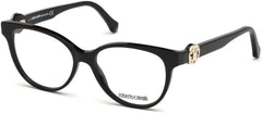 Roberto Cavalli - RC5047 Figline Shiny Black Eyeglasses / Demo Lenses