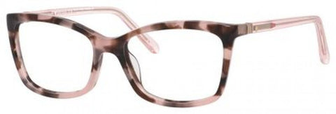 Kate Spade - Cortina 54mm Havana Rose Eyeglasses / Demo Lenses