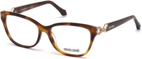 Roberto Cavalli - RC5017 Barga Dark Havana Eyeglasses / Demo Lenses