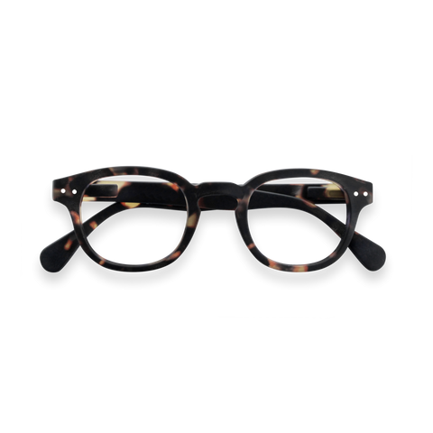 Izipizi - #C Tortoise Junior Eyeglasses / Screen Blue Light Clear Lenses