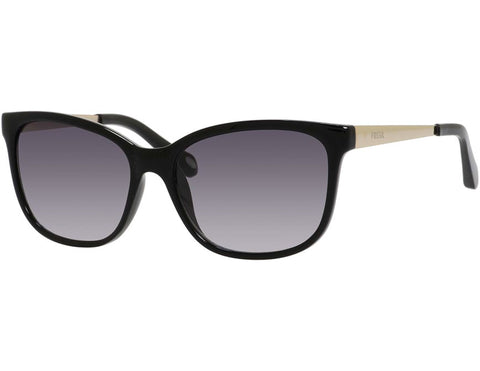 Fossil - 3038  Black  Sunglasses / Gray Gradient Lenses